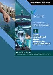conference brochure - saudi international water technologies ...