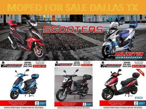 Moped For Sale Dallas TX