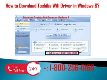 1-800-256-0160 Download Toshiba Wifi Driver In Windows 8