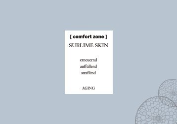 Comfortzone Produktserie sublime skin