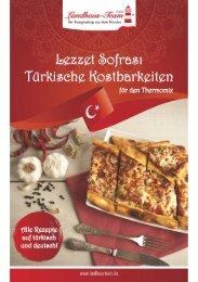 Landhaus-Team: Lezzet Sofrasi - Türkische Kostbarkeiten für den Thermomix