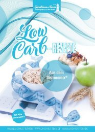 Landhaus-Team: Low Carb aus den Thermomix
