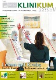 KLINIKUM aktuell 2/2012 - des Klinikums