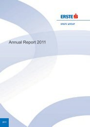Annual Report 2011 - Erste Group