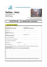 Perthes - Haus
