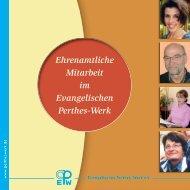 Ehrenamtliche - Evangelisches Perthes-Werk eV