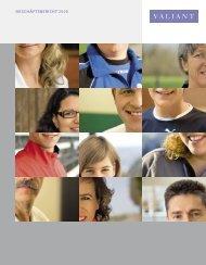 Geschäftsbericht 2008 - Valiant Bank