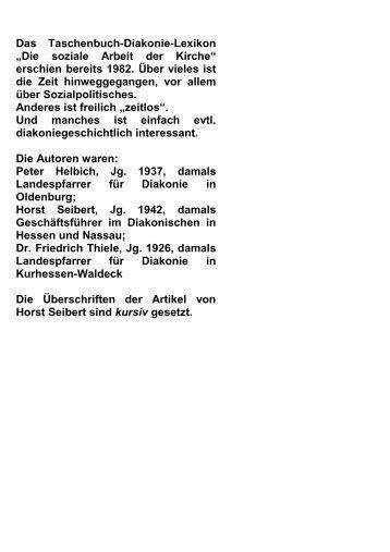 E - Professor Dr. Horst Seibert
