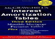 [+]The best book of the month McGraw-Hill s Interest Amortization Tables, Third Edition  [DOWNLOAD]