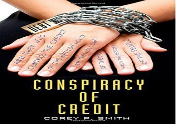 [+]The best book of the month Conspiracy of Credit  [DOWNLOAD]