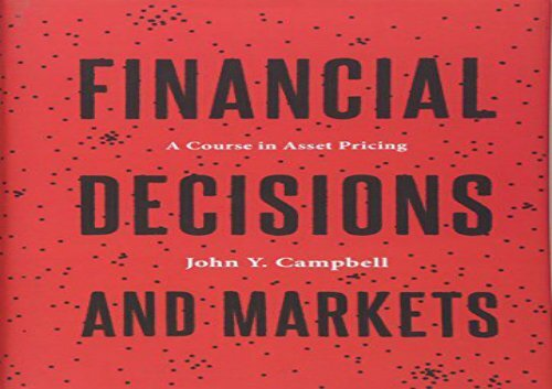 PDF] TOP TREND Financial Decisions and Markets: A Course in