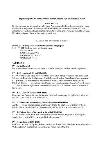 WEIMAR - Pangaea Verlag