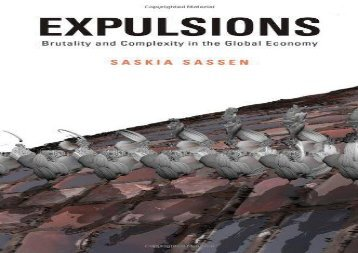 [+]The best book of the month Expulsions: Brutality and Complexity in the Global Economy: Brutality and Compexity in the Global Economy  [FREE]