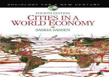 [+]The best book of the month Cities in a World Economy: Volume 4 (Sociology for a New Century Series)  [NEWS]