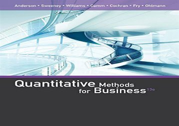 [+]The best book of the month Quantitative Methods for Business  [READ]