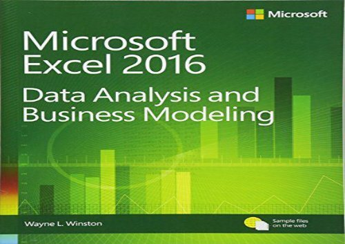 Data Analysis With Microsoft Excel Pdf