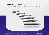 [+][PDF] TOP TREND Basic Statistics for Business and Economics  [DOWNLOAD]