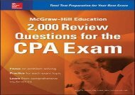 [+]The best book of the month McGraw-Hill Education 2,000 Review Questions for the CPA Exam [PDF]