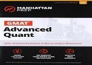[+][PDF] TOP TREND GMAT Advanced Quant (Manhattan Prep GMAT Strategy Guides)  [FULL]