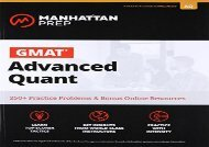 [+][PDF] TOP TREND GMAT Advanced Quant (Manhattan Prep GMAT Strategy Guides)  [FULL]