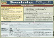 [+][PDF] TOP TREND Statistics Equations   Answers (Quickstudy: Academic)  [DOWNLOAD]