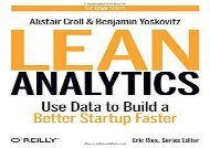 [+]The best book of the month Lean Analytics: Use Data to Build a Better Startup Faster (Lean (O Reilly))  [FREE]