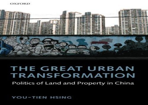 [+]The best book of the month The Great Urban Transformation: Politics of Land and Property in China  [NEWS]