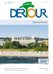 DERTOUR Deutschland 2012