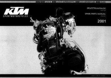 Ersatzteilekatalog LC4E 01 Motor