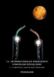 14. internationales endoskopie symposium düsseldorf
