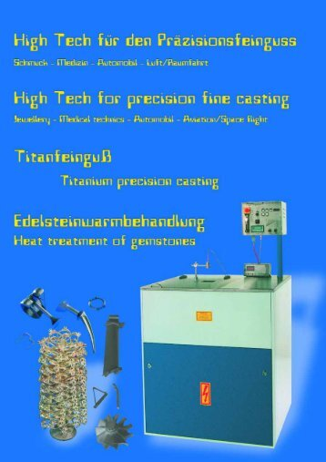 Edelsteinwarmbehandlung / Heat treatment of gemstones