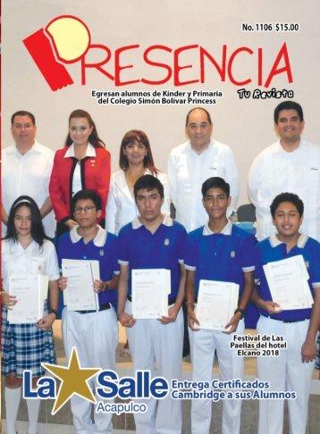 Revista Presencia Acapulco 1106