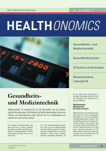Gesundheits- und Medizintechnik