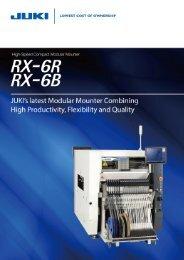 SMT pick and place machine JUKI RX-6 www.flason-smt.com