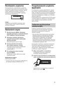 Sony MEX-XB100BT - MEX-XB100BT Istruzioni per l'uso Polacco - Page 7