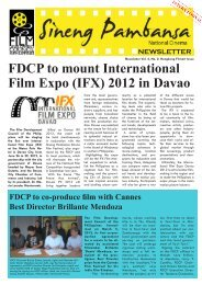 2012 in Davao - Film Development Council of the Philippines