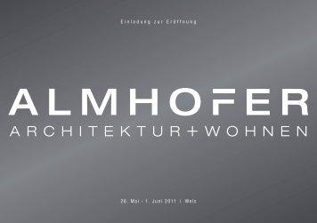 Einladung zur Eröffnung 26. Mai - 1. Juni 2011 | Wels