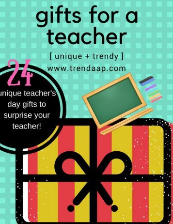 teacher gift magazine