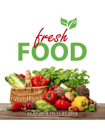 fresh food 5-11 july