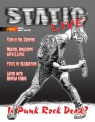 Static Live Magazine July 2018