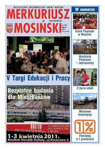 Wydanie nr 3/90 - Mosina, Urząd Miasta