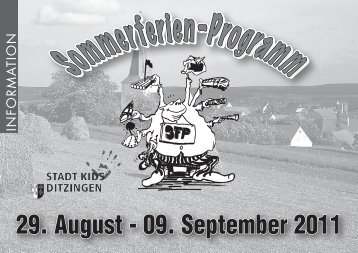 29. August - 09. September 2011 - in Ditzingen