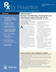 Advance Care Planning - Department of Public Health