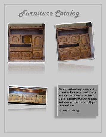 Handpicked Furniture Catalog