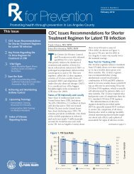 CDC Issues Recommendations for Shorter Treatment Regimen for ...