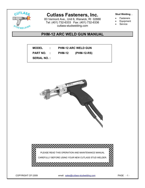 2 Free Magazines From Cutlassstudweldingcom Welding Gun Diagram