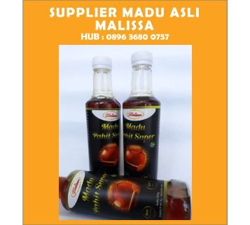 MURNI, TELP : 0896-3680-0757, Madu asli Online Malissa