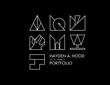 Hayden A. Hood Portfolio | 2018 |