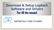 Download Setup Logitech Software And Driver +1-800-712-0805 (Toll-Free)