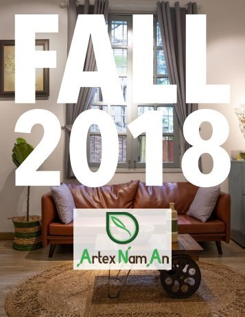 Artex Nam An Fall 2018 Catalog